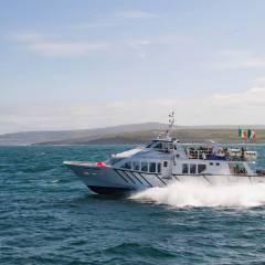 Doolin Fast Ferries with O'Brien Ferries from Doolin to Aran