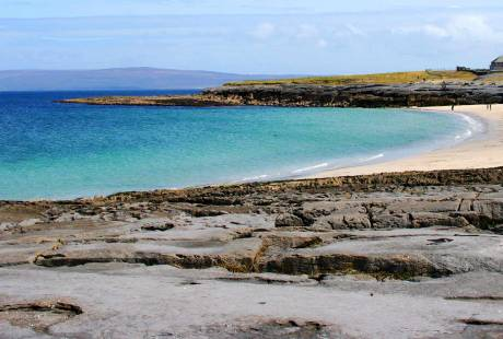 Inisheer Beach with Doolin Ferries and sailing times