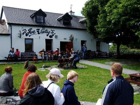 Joe Wattys Pub on Inishmore Aran Islands