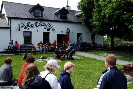 Joe Wattys Pub on Inishmore, Aran Islands