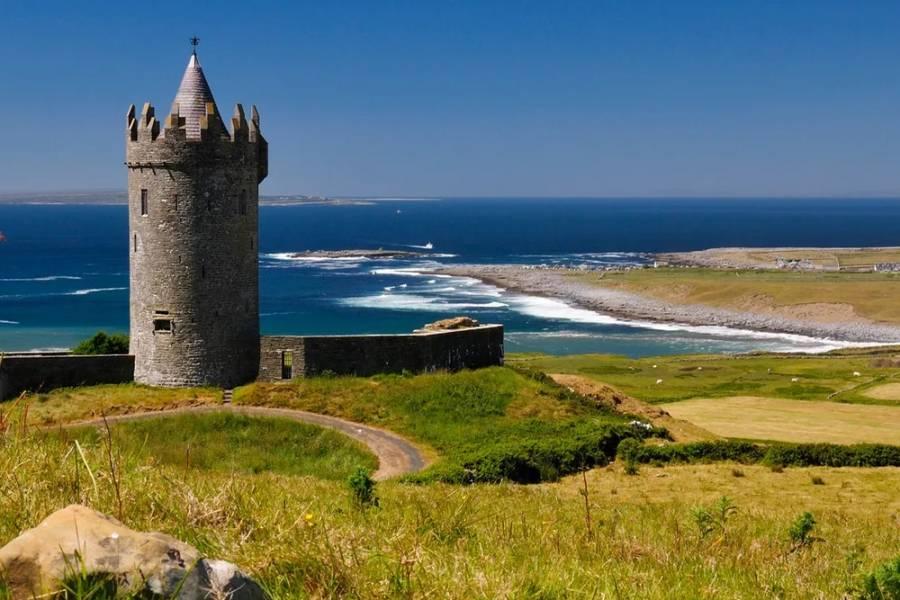 Doonagore Castle in Doolin, County Clare
