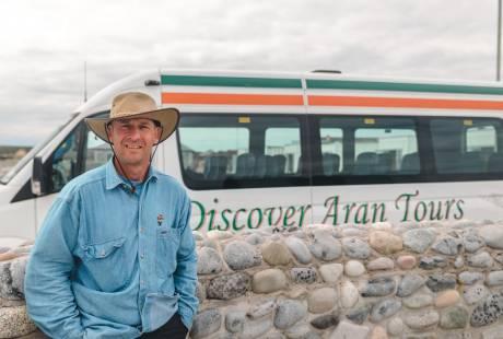 Aran Bus tours on Inishmore, Aran Islands